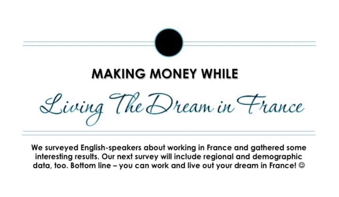 Working for a Living in France