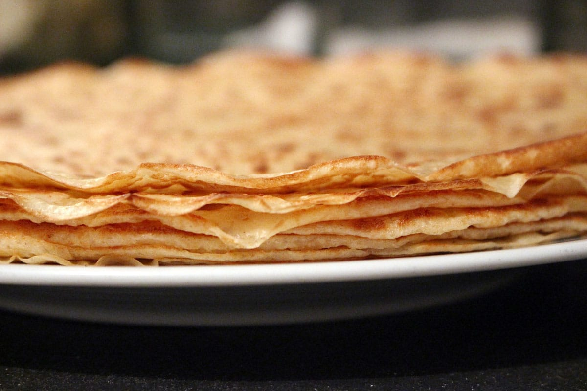 Crepes for La Chandeleur