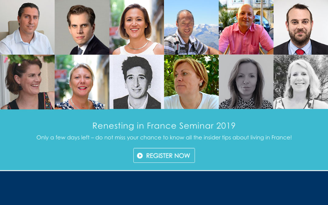 Renesting in France Seminar 2019: Topics and Speakers