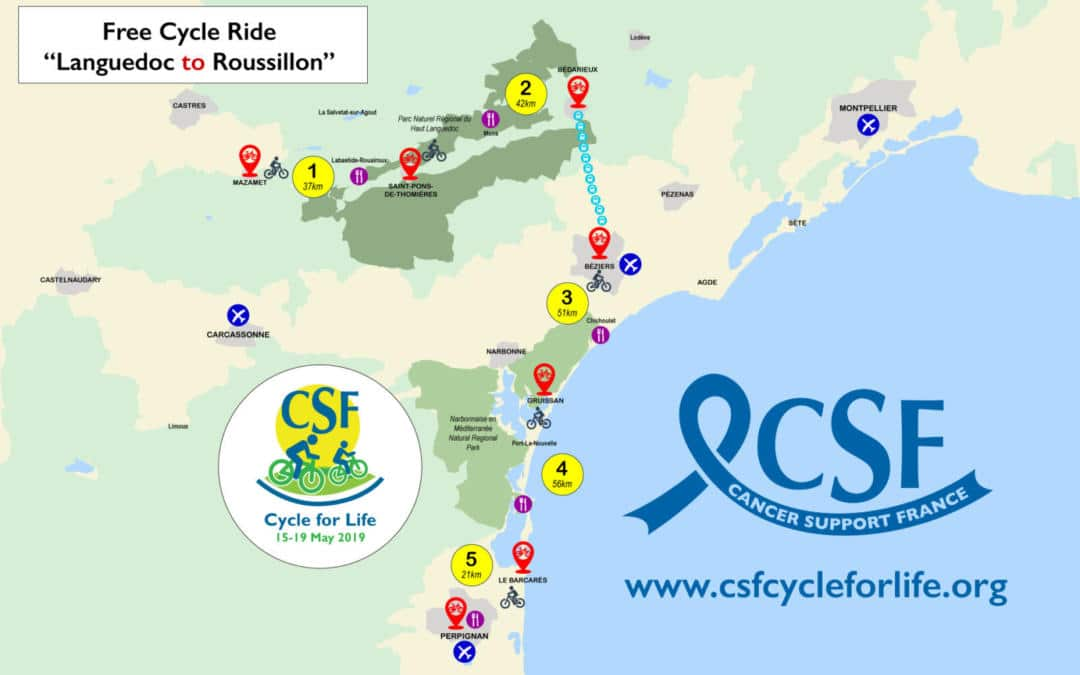 Cycle for Life for Cancer Support France