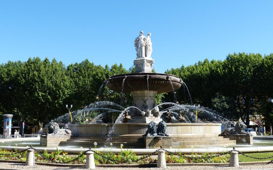 The Beauty of Southern French Fountains