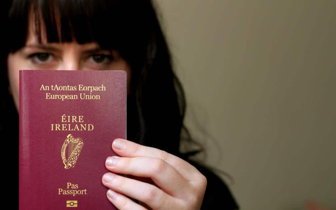 How to Order an Irish Passport from France