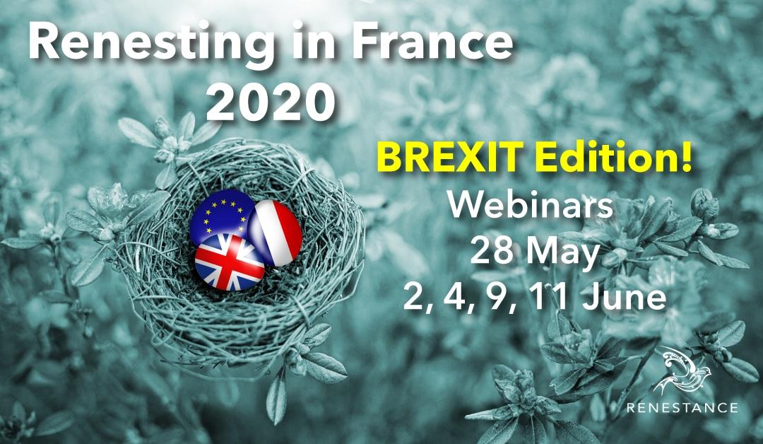 Renestance Brexit Webinars