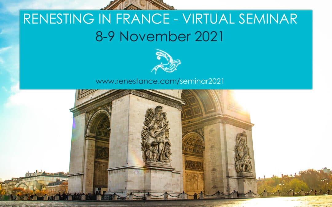 Renesting in France Webinars 2021 – Meet the Presenters!